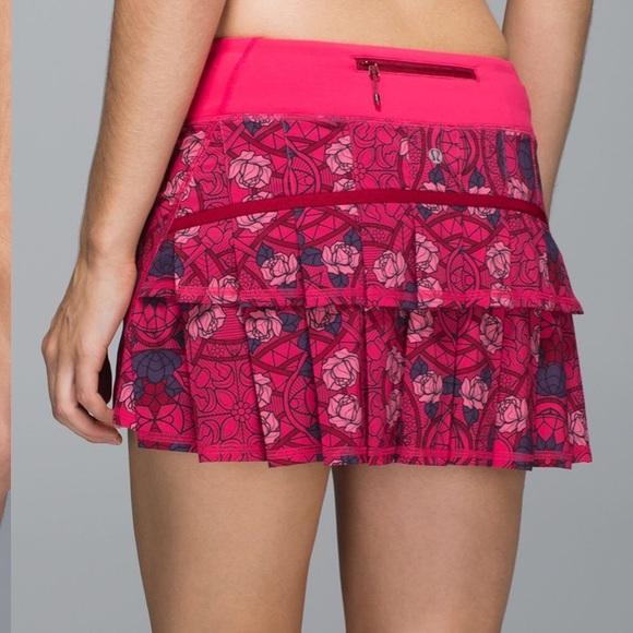 lululemon athletica Pants - 🌹SOLD🌹Lululemon Run: Pace Setter Skirt